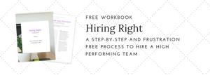 hiring right workbook