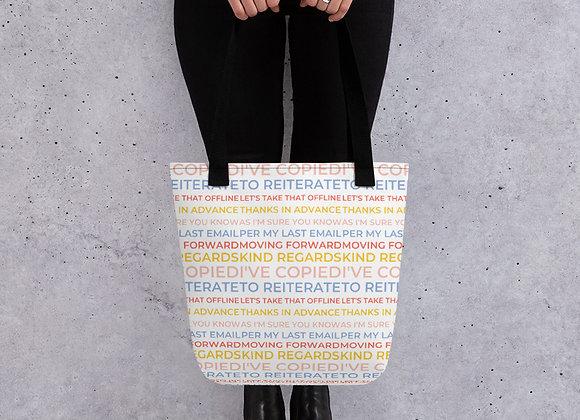 Corporate Phrases Tote bag