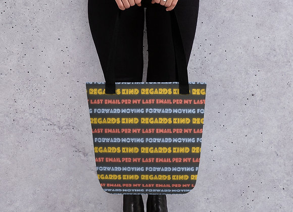 Email Phrases Tote bag