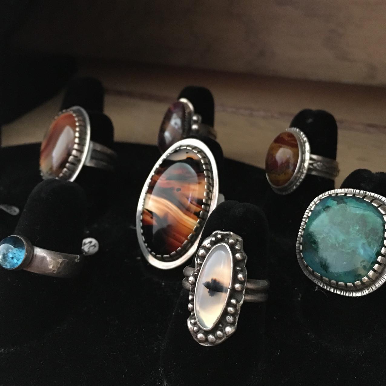 Rings by Lennie Poitras