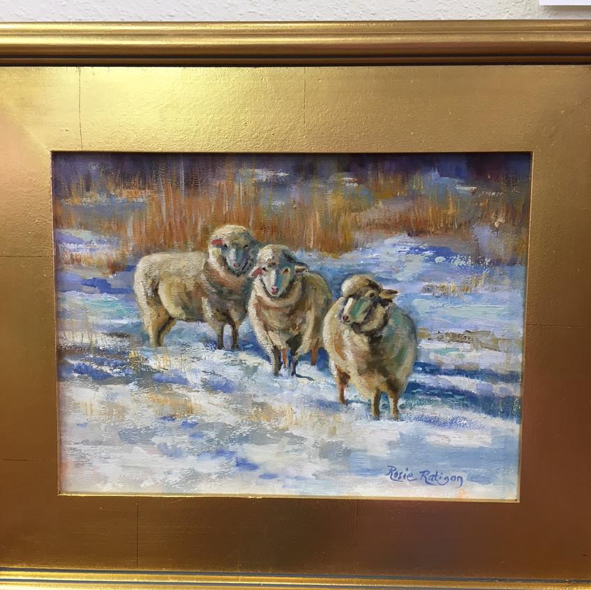 Sheep by Rosie Ratigan