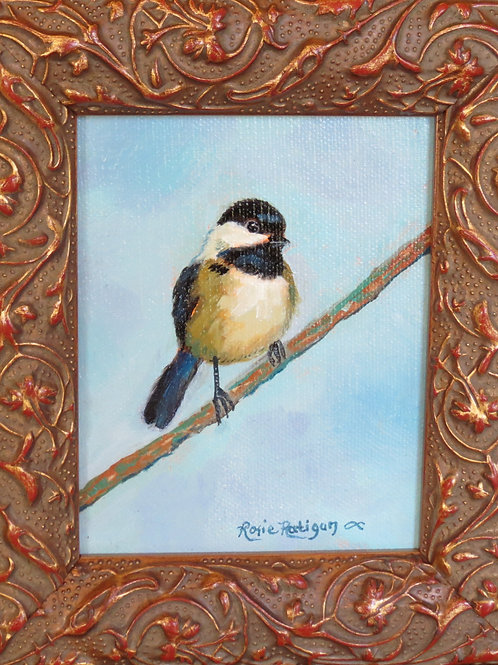 First Spring Chickadee