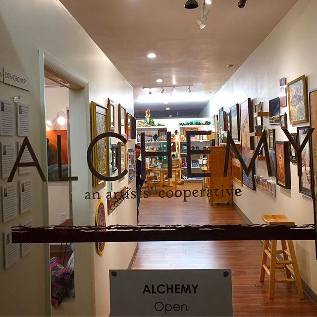 Alchemy is... local! We're the shop right around the corner from where you live, work or play