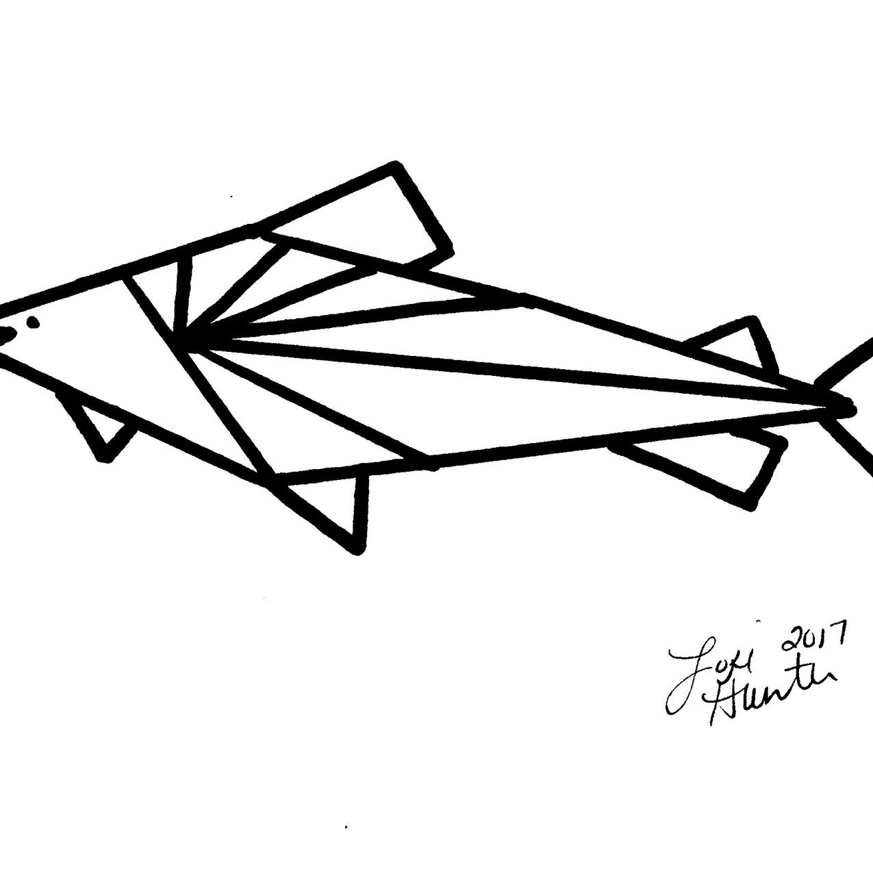Geometric fish 01