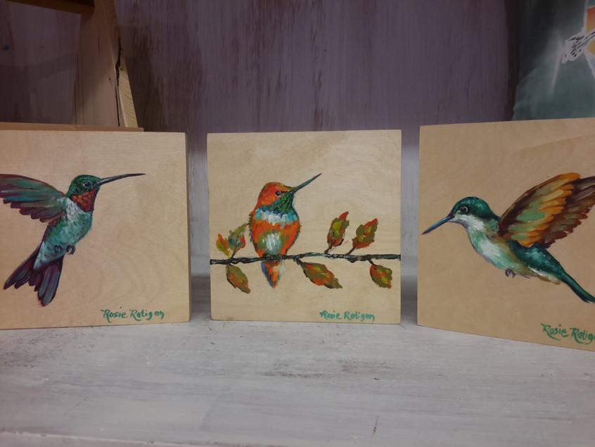 Hummingbirds by Rosie Ratigan