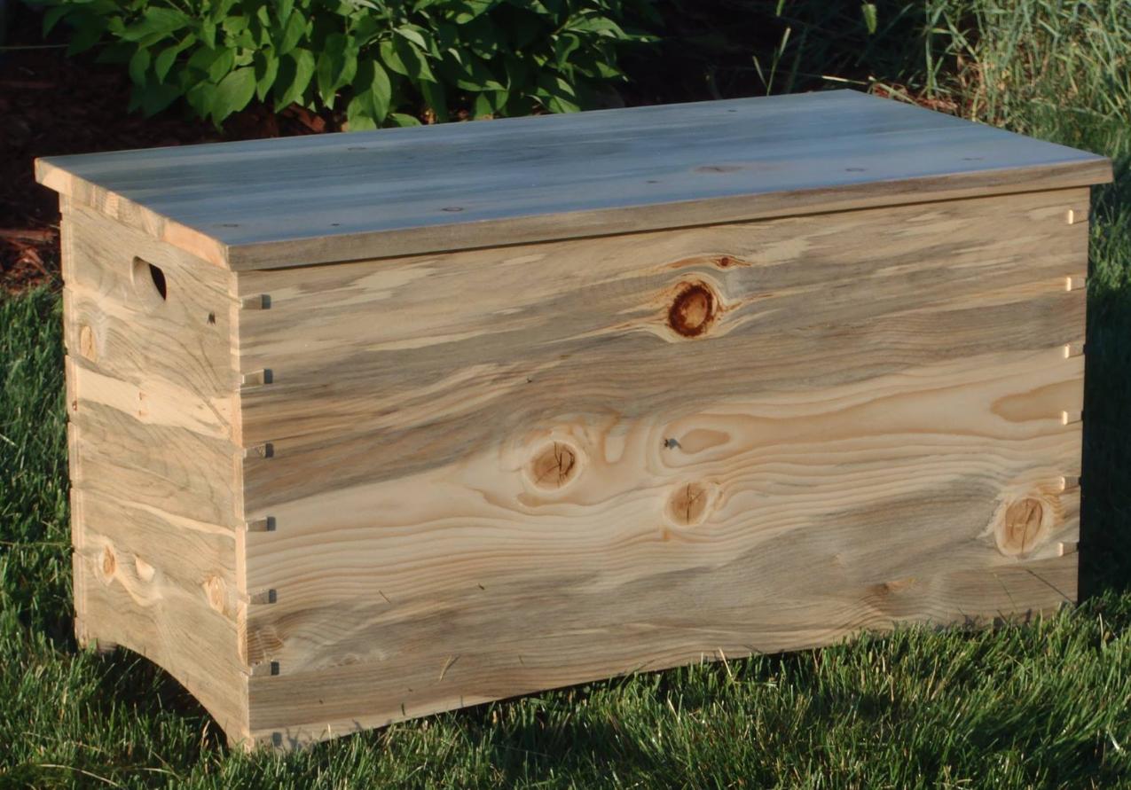 Wood trunk by Joel Newquist