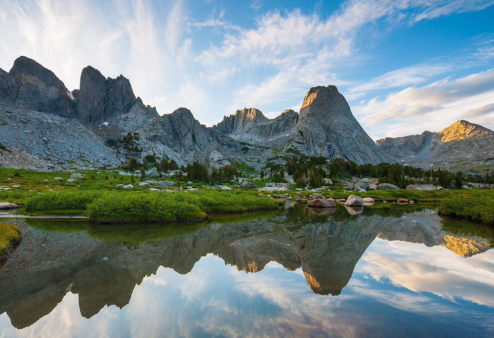 Cirque of the Towers by Scott Copeland