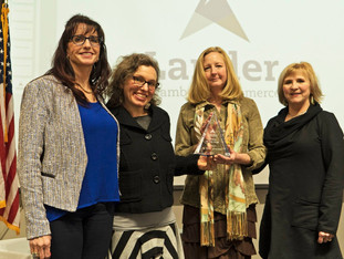 """Alchemy Chosen as Lander Chamber of Commerce """"2017 Rookie of the Year"""""""