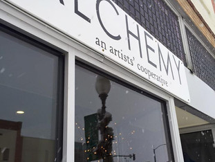 Alchemy's New Sign!