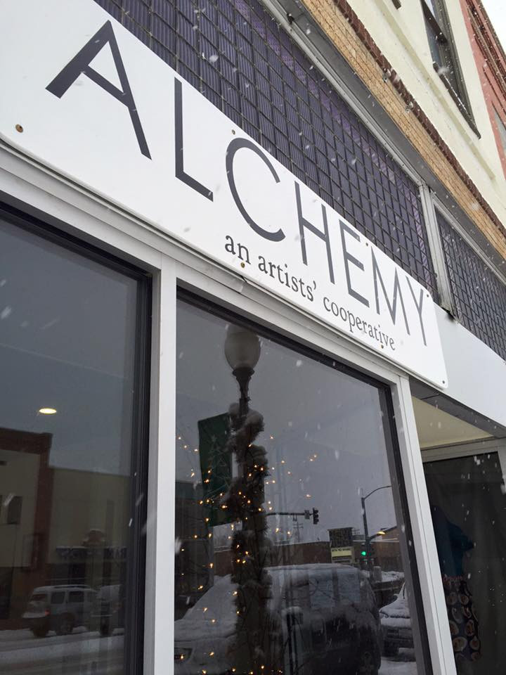 Alchemy has a new sign!  Please visit us at 320 Main in Lander, WY!
