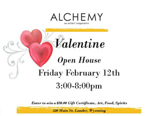 Valentine Open House at Alchemy!