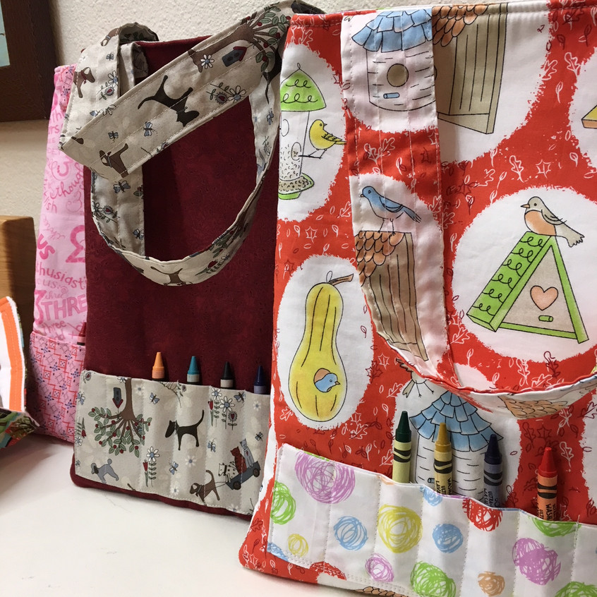 Activity bags by Mary Haper