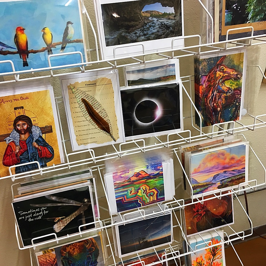 Lander artist greeting cards