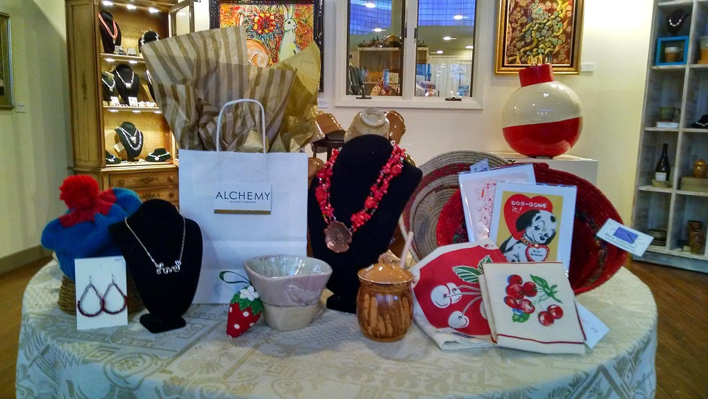 Just a few of the fun items on display for Valentine's Day!
