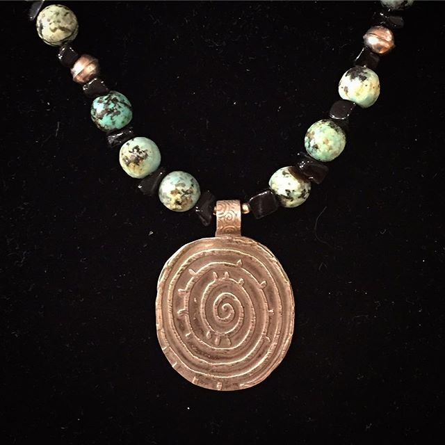 Necklace by Lennie Poitras