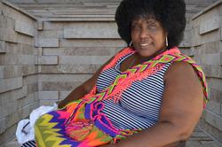 African lady by Bransha Gautier