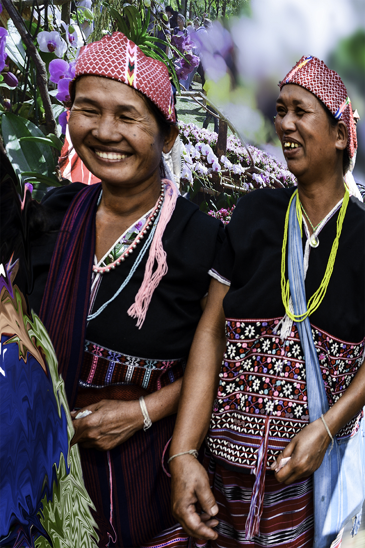 Ethnic tribes by Bransha Gautier
