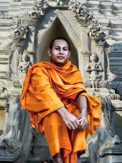 Monk by Bransha Gautier