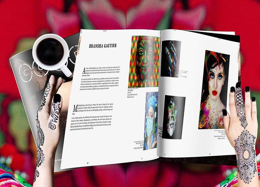 Mexican Art Magazine_Coup_Bransha Gautie