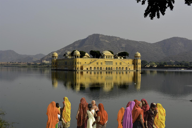 Jal Mahal temple by Bransha Gautier