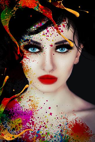 devojka boje