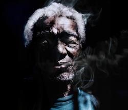 Cigar man by Bransha Gautier