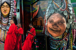 Monks by Bransha Gautier