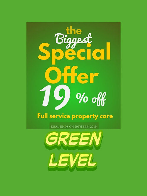 Green Level Property Care Pinnacle Program