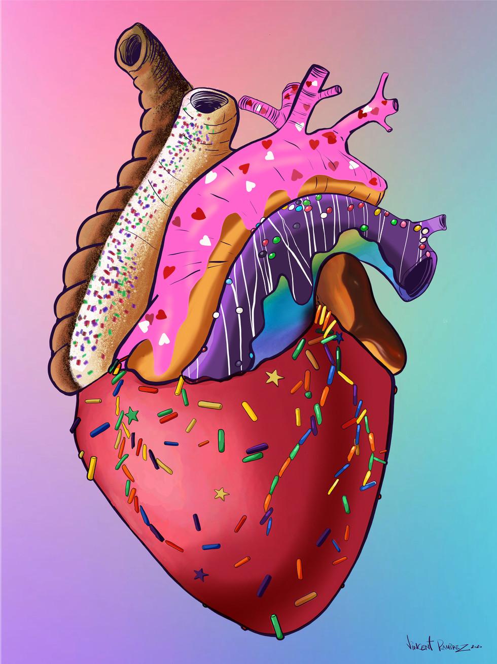 """""""Dylan's Heart Donut"""""""