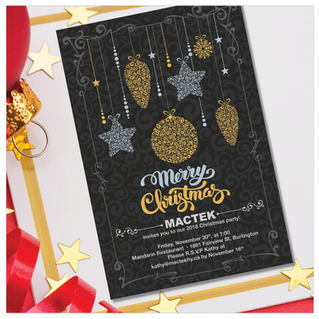 Mactek Christmas Invitation