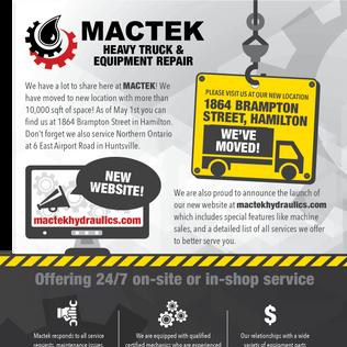 Mactek We've Moved Email Marketing