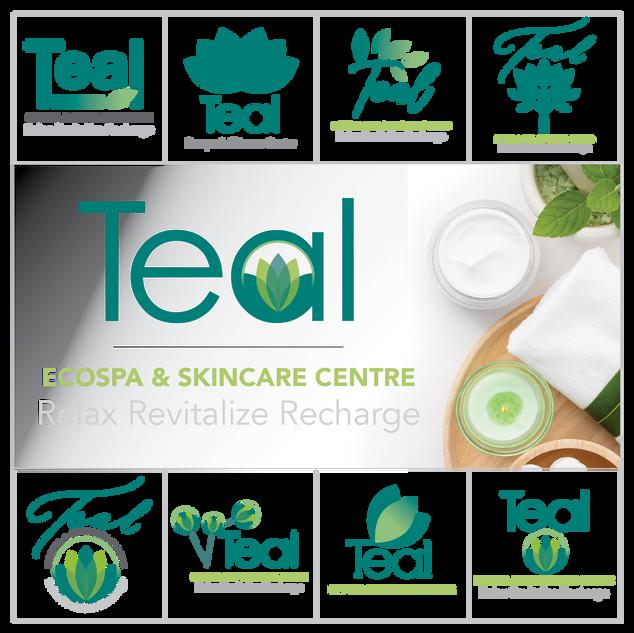 Teal Logo Design