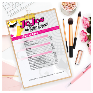 Jojos Lashes Price List