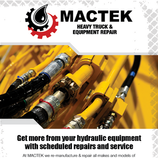 Mactek Hydraulic Repairs Email Marketing