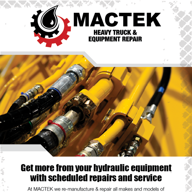 Mactek Hydraulic Repairs Email Marketing