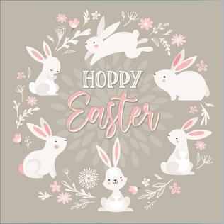 Hoppy Easter Social Media