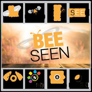 Bee Seen Logo Design