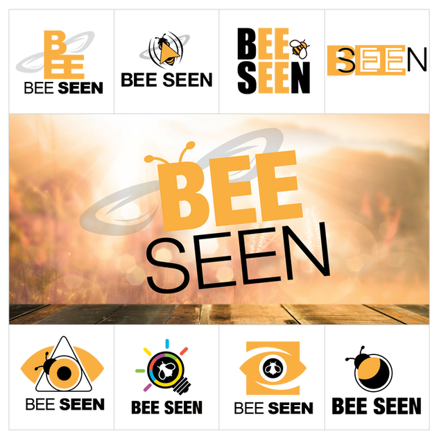 Bee Seen Logo Design