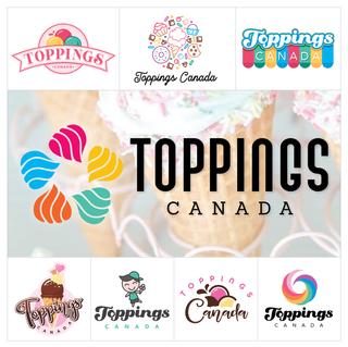 Toppings Canada Logo Design