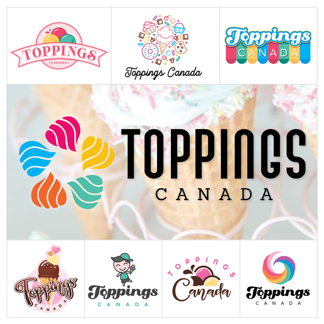Toppings Canada Logo Design