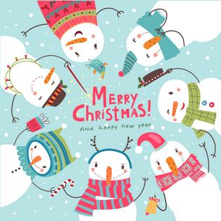 Merry Christmas Social Media