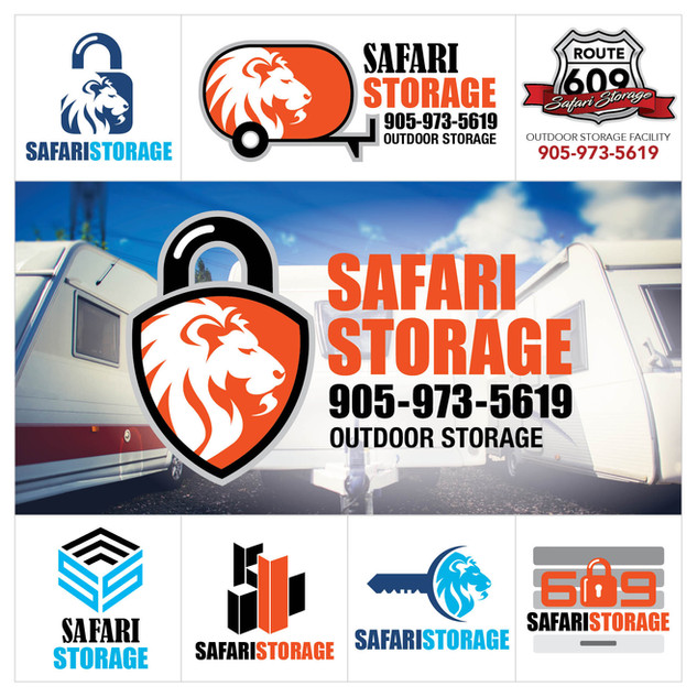 Safari Storage Logo Design
