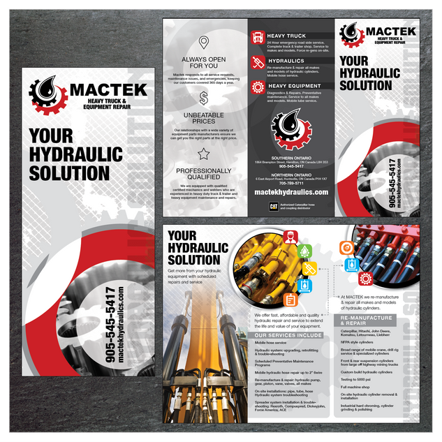 Mactek Hydraulic Pamphlet