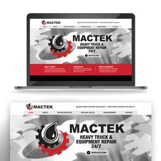 Mactek Website Design WWW.MACTEKHYDRAULICS.COM