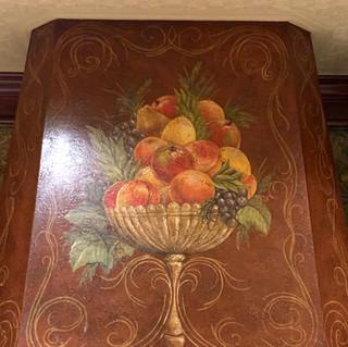 Fruit Basket on Range Hood