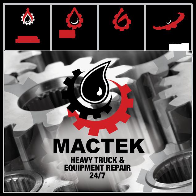 Mactek Logo Design