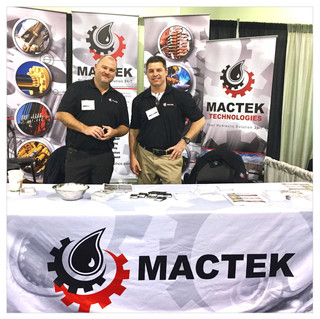 Mactek Tradeshow Panels and Tablecloth