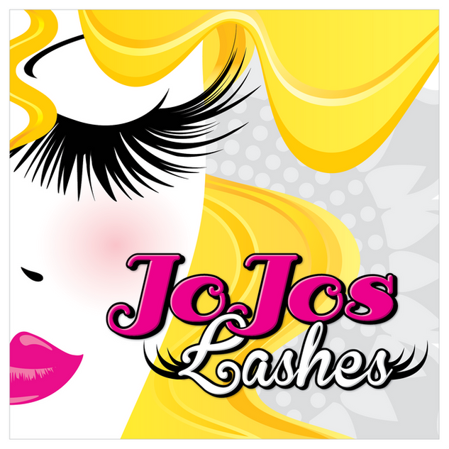 JoJos Lashes Logo Design
