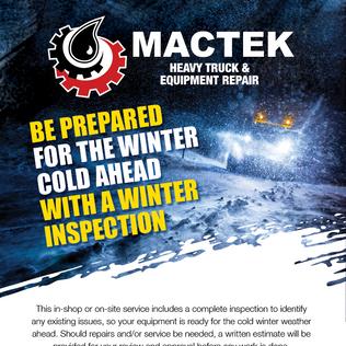 Mactek Winter Inspection Email Marketing