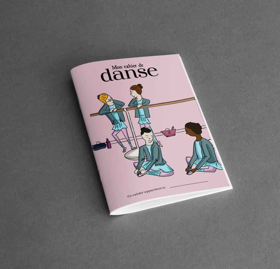 Mon Cahier de Danse by Space One Studio